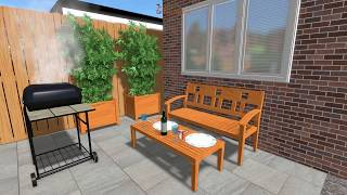 3D Garden designs