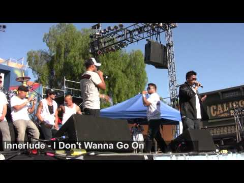 Innerlude  Performace I Dont Wanna Go On  Kababayan Fest 2011 Knotts Berry Farm