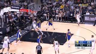 Stephen Curry Hits A Full Court Buzzer Beater!