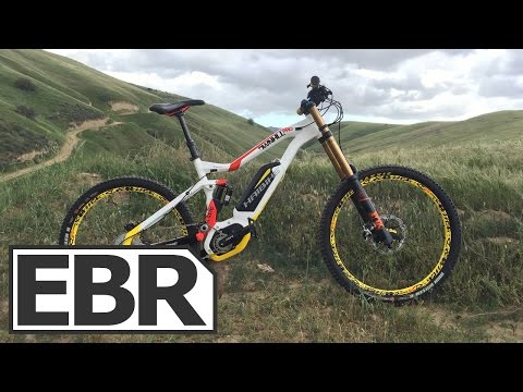Haibike XDURO DWNHLL Pro Video Review - Downhill Long Travel Electric Bike