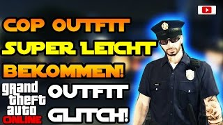 Grand Theft Auto 5 Online - Cop Outfit Super Leicht Bekommen! [Outfit Glitch]