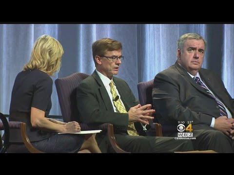 Law Enforcement Leaders Reflect On Marathon Bombing At Salem State Event