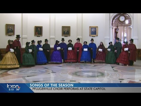 Pflugerville High School Choir fills State Capitol with song