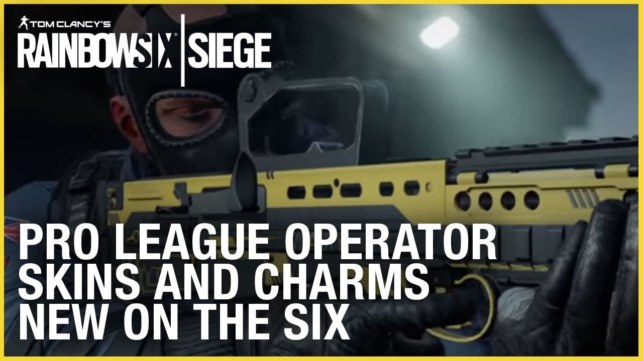 Rainbow Six Siege Pro League Skins: What Weapon Skins and
