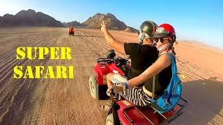 Super Safari in Egypt / Сафари на квадроциклах Египет
