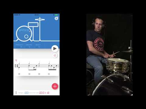 PttrN For Drummers : THE Drummer's App