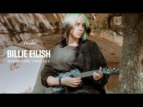 Billie Eilish Signature Ukulele | Artist Signature Series | Fender