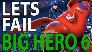 Repeat youtube video EWW... Lets Fail Big Hero 6 | 54 Things Wrong With The Disney Movie
