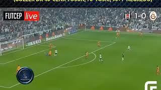 galatasaray bjk  maçı  skor 3-0  2017 derbi mac sonucu