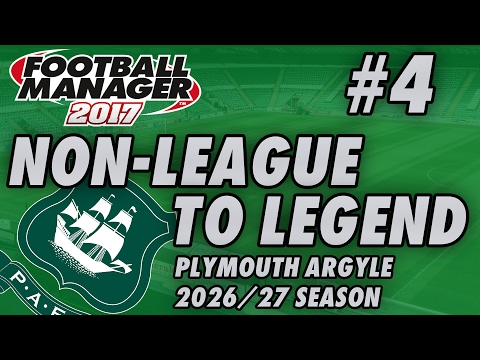 Non-League to Legend FM17 - PLYMOUTH - S11 E04 - TAKEOVER?