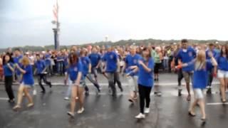 Ритмичный флеш-моб (Омск) - Лучший танцевальный флешмоб #ФМ2013