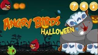 Angry Birds Halloween Adventure Walkthrough Gameplay #2 앵그리버드 할로윈 어드벤처 # 2