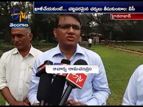 To Vacate Non-Boarders   From Osmania University Campus   VC Ramchandram