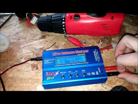 NiCad battery pack to lithium ion conversion 18650 batteries