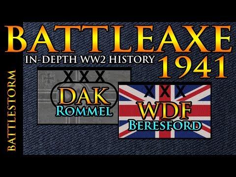 The REAL Operation Battleaxe 1941   BATTLESTORM WW2 Documentary