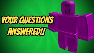 NO_DATA KNIFE!? [Q&A #03] (ROBLOX ASSASSIN)