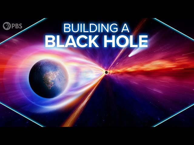 Building Black Holes in a Lab