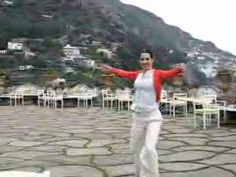 Dancing in Positano