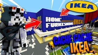 CACHE CACHE SUR MINECRAFT MAP IKEA   MAGASIN GÉANT   CENTRE COMMERCIAL PS4 FR !