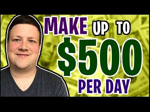 MAKE $500 A DAY ONLINE - (How to use JVZoo)