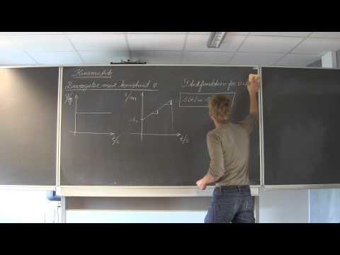 FysikA - Kinematik