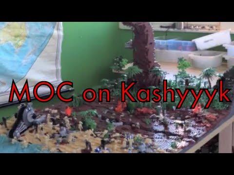 Lego Star Wars MOC on Kashyyyk: The invasion has begun LEGO HOUSE