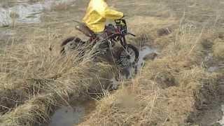 irbis ttr 125 по грязи