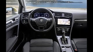 VW Golf 7 Facelift: Cockpit und Bedienelemente (2018)