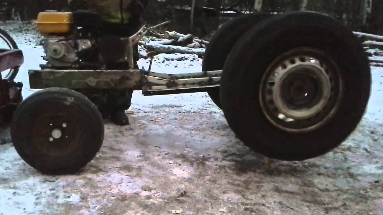 Home Made Tractor Clutch : My little homemade garden tractor part gears youtube