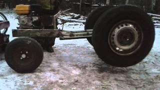 My Little Homemade Garden Tractor Part3 Gears