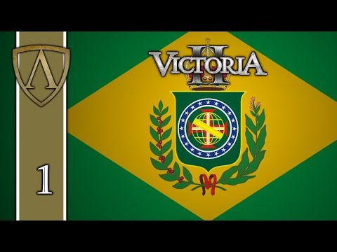 Victoria II Tutorial -- Empire of Brazil -- Part 1: Production, Budget, and Technology