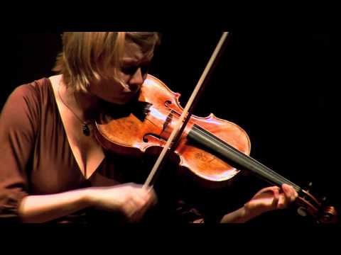 Alina Ibragimova  J.S. Bach:Gavotte en Rondeu  Violin Partita No.3 in E major BWV 1006