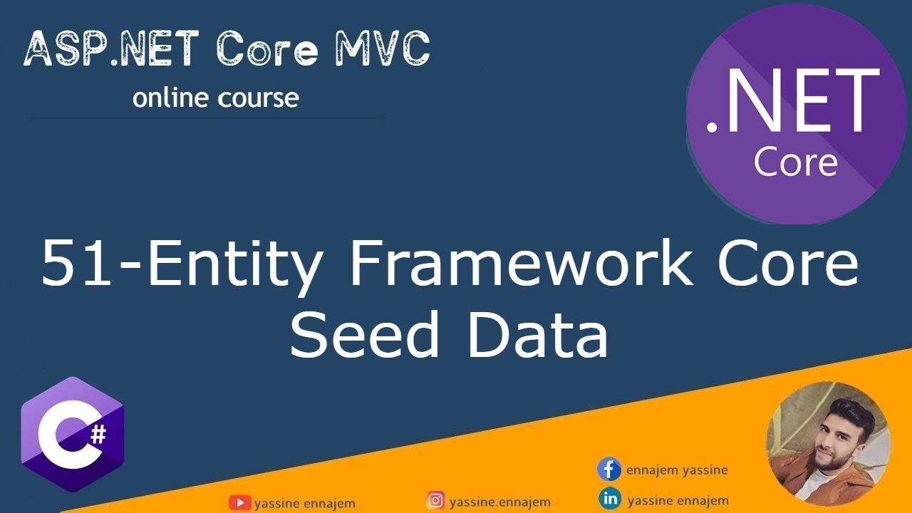 51.Entity Framework Core Seed Data in Darija Arabic