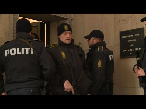 Two charged in Denmark with aiding Copenhagen gunman: police
