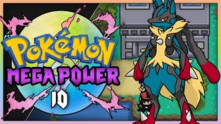 Pokemon Mega Power (Rom Hack ) Part 10 MEGA EVOLUTION! Gameplay Walkthrough
