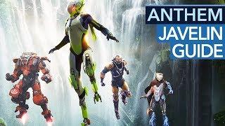 Javelins in Anthem: Fähigkeiten, Kombos & Besonderheiten erklärt