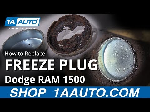 How to Replace Freeze Plug 94-02 Dodge RAM 1500