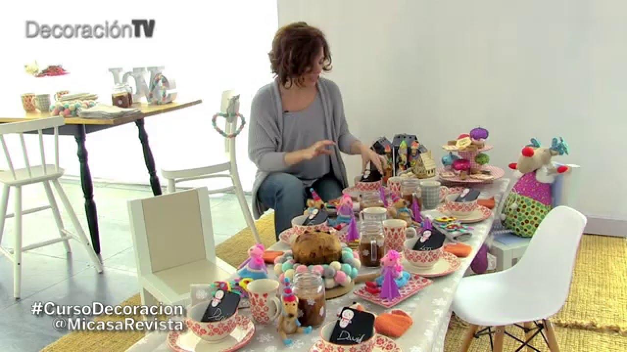 Un desayuno de reyes magos curso de decoraci n youtube for Decoracion para reyes