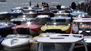 Florida Powerboat Club 2015 20th Annual Miami Poker Run Segment 2 - High Performance Boats