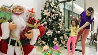 Um presente de natal do Papai Noel