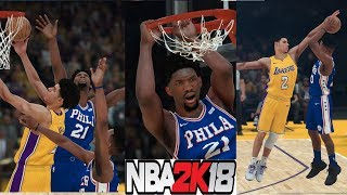 NBA 2K18 Mycareer-Next-generation star? Lonzo Ball vs Markelle Fultz