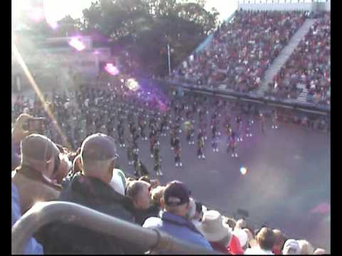 Edinburgh Military Tattoo 2009 - The Massed Pipes and Drums (Entry)