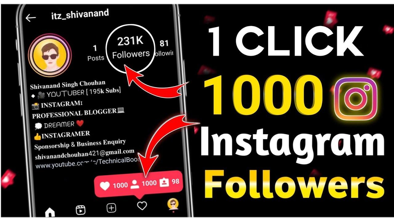 how to increase instagram followers in 2021 | instagram par follower kaise badhaye 2021