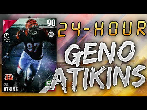 24-HOUR GENO ATKINS WE GOT 24-HOURS! - PACK OPENING - Madden 16 Ultimate Team
