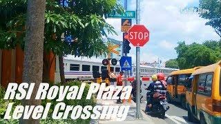 Perlintasan Kereta Api RSI Royal Plaza Wonokromo Jl. A. Yani Surabaya JPL A1A