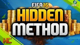 FIFA 16   EASY HIDDEN TRADING METHOD - EASY COINS 1K PER CARD (TRADING METHOD)