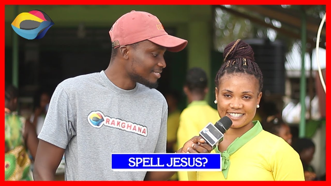 SPELL JESUS   Street Quiz   Funny Videos   Funny African Videos   African Comedy