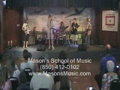 Rock Bands at Mason's School of Music Tallahassee