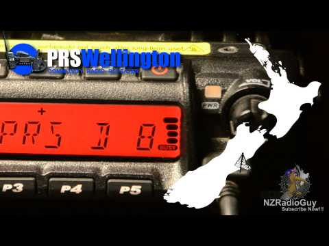 305km UHF PRS Radio Call Wellington - Christchurch