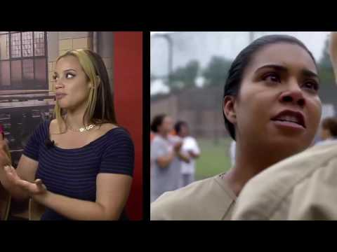 Entrevista con Dascha Polanco y Elizabeth Rodriguez de la serie Orange Is the New Black de Netflix.